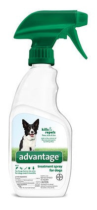 Advantage Flea & Tick Treatment Spray for Dogs