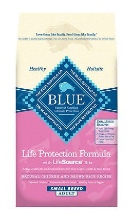 Blue Buffalo Life Protection Small Breed Adult Chicken & Brown Rice