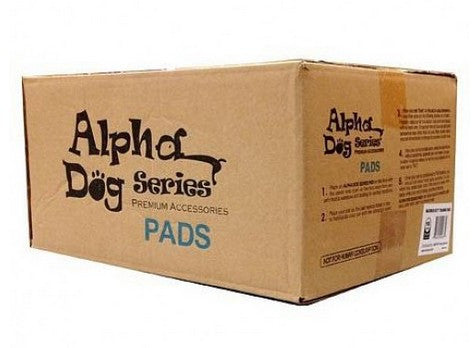 Alpha Dog Doggy Pad 100 Count (Brown Box)