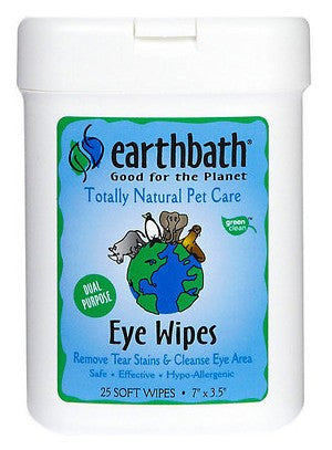 Earthbath Eye Wipes For Dogs