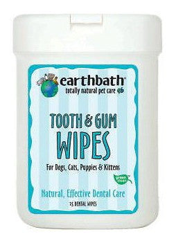 Earthbath Specialty Tooth & Gum Wipes