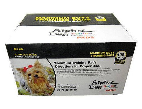 Alpha Dog Max Pad 100 Count