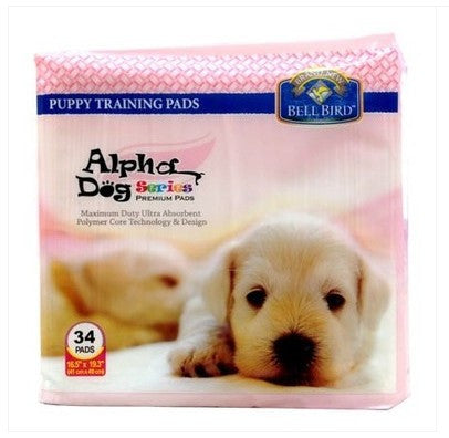 Alpha Dog Puppy Pad 34 Count