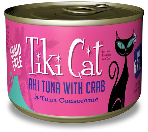 Tiki Cat Ahi Tuna with Crab Hana Grill