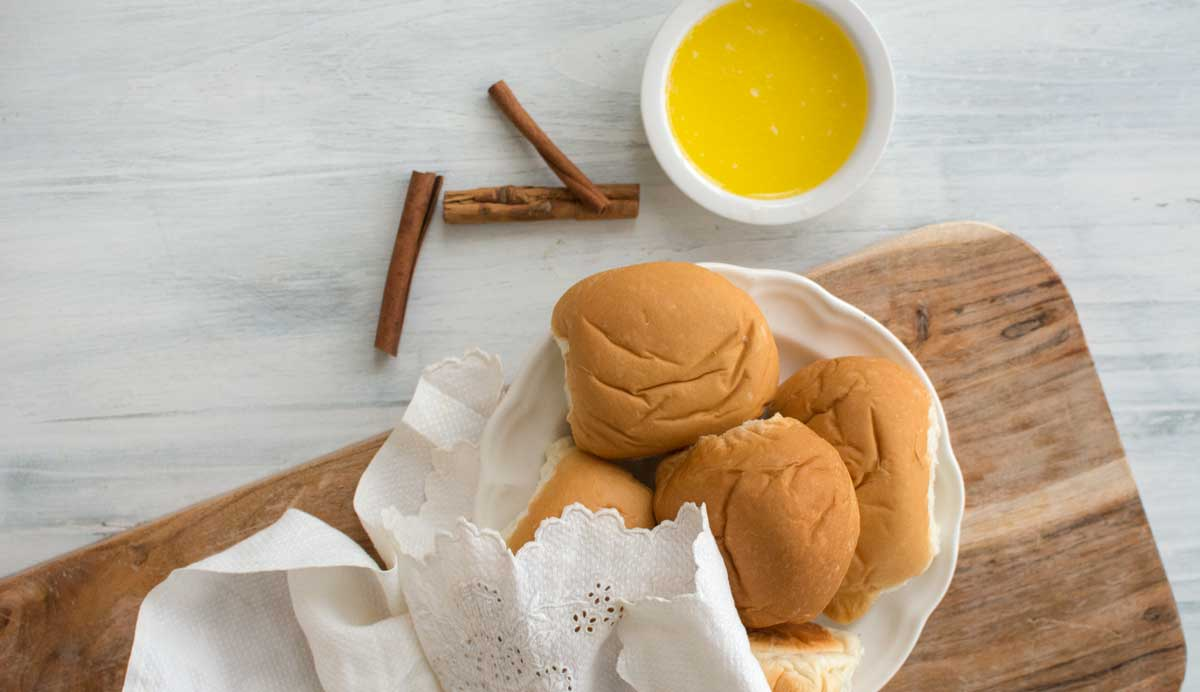 Cinnamon infused honey butter