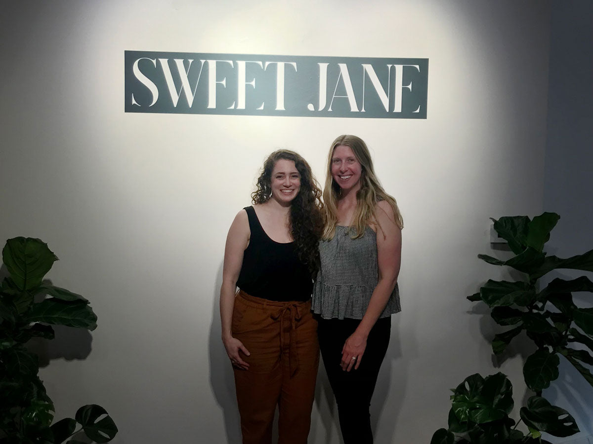 Kristen Williams and Katy Ibsen at Sweet Jane Launch Party