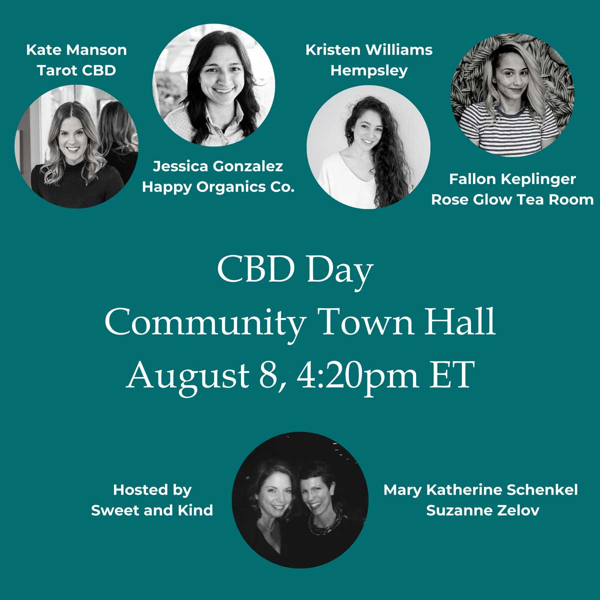 CBD Day Virtual Town Hall with Sweet and Kind