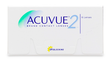 Acuvue 2 Contact Lenses 6-Pack - Lensbox™