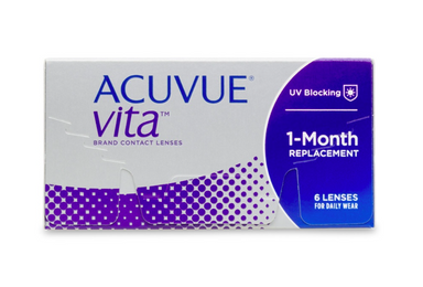 Acuvue Vita Monthly Contact Lenses 6-Pack - Lensbox™