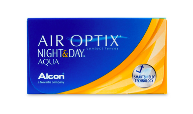 Air Optix Night & Day Aqua 6-Pack - Lensbox™