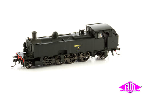 SMR 10 Class Locomotive, 19 SMALL SMR PTY LTD, BLACK - RED - YELLOW, 1970 - 1979