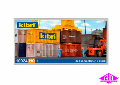 10924 20' Containers 8pc
