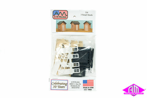 116 3 Small Sheds