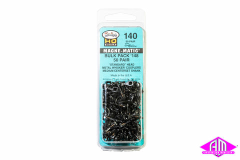 KD-140 #148 Whisker Bulk Pack (without draft gear boxes) (50pr)