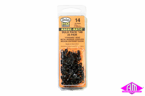 KD-14 #148 Whisker Bulk Pack (without draft gear boxes) (25pr)