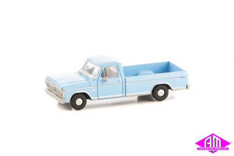 Ford F-100 Pick Up Wind Blue 1973