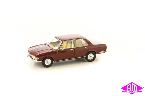 BMW 2500 Purple Red 1/87 Scale