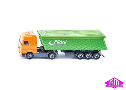 Truck with trailer and roof 1:87