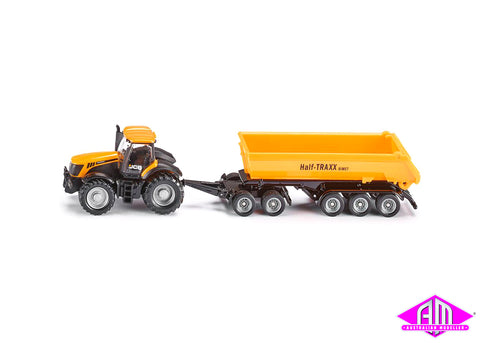 Tractor with dolly & tipping trailer 1:87