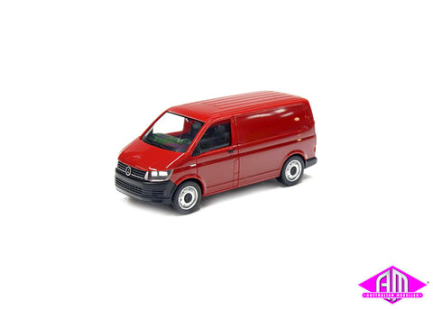 VW T6 Transporter - Red