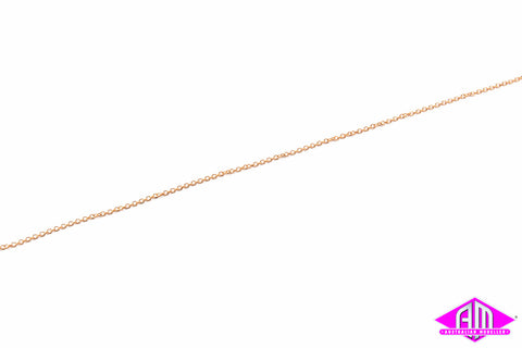 "AL-29217 Brass Chain 12"" - 27 Links per inch"