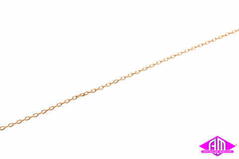 "AL-29218 Brass Chain 12"" - 15 Links per inch"
