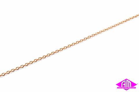 "AL-29270 Brass Chain 12"" - 13 Links per inch"
