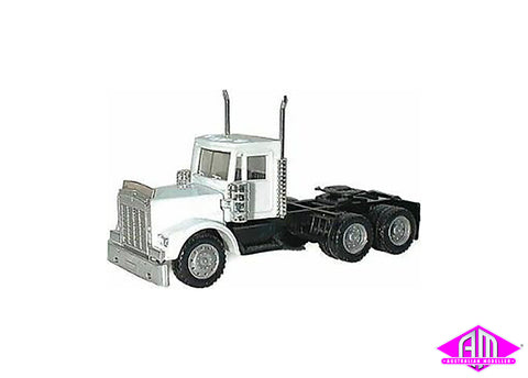 Kenworth truck white