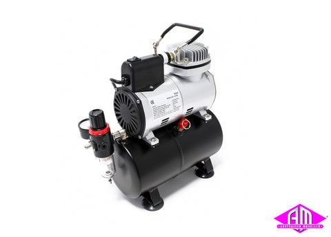Mini Air Compressor With Tank and Fan