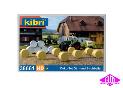 38661 Straw bale assortment
