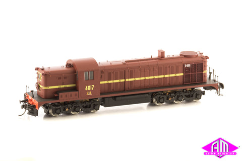 NSWGR 40 Class, Tuscan Red Type 3, 4017, SOUND