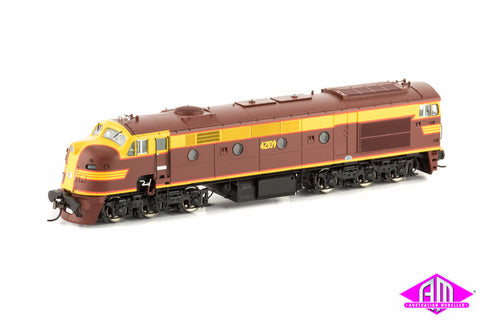 421 Class Locomotive 42109 Indian Red (Red Lining) 421-2
