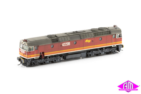 42209 Candy - with orange L7 & with buffers 422-26 DCC Sound Weathered