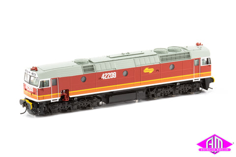 422 Class Locomotive 42209 Candy - with orange L7 & with buffers 422-26