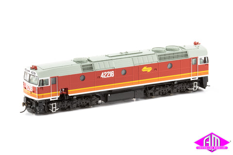 422 Class Locomotive 42216 Candy - with orange L7 & without buffers 422-27
