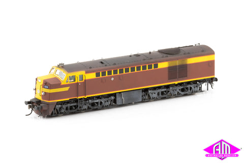 43 Class Locomotive 4306 Indian Red 1952-1959 Weathered