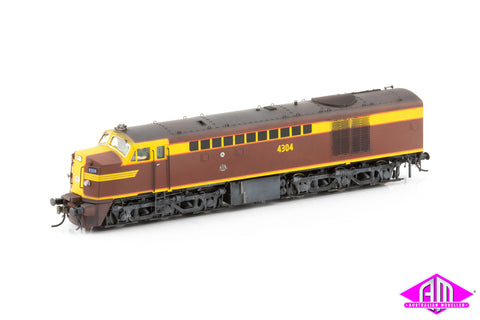 43 Class Locomotive 4304 Indian Red 1959-1969 Weathered