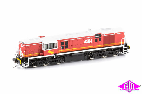 45 Class Locomotive 4504 Candy White Roof 45-12