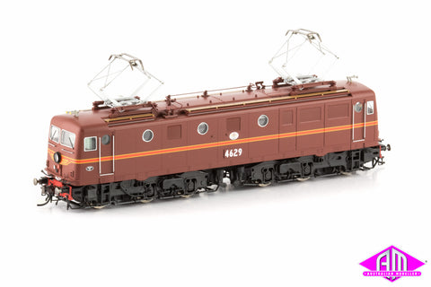 46 Class Locomotive 4629 Indian Red with Signal Red Striping 46-5