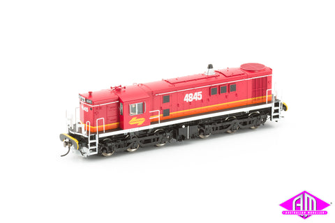 NSW 48 Class Locomotive 4845 MK1 Candy with red roof 48-16
