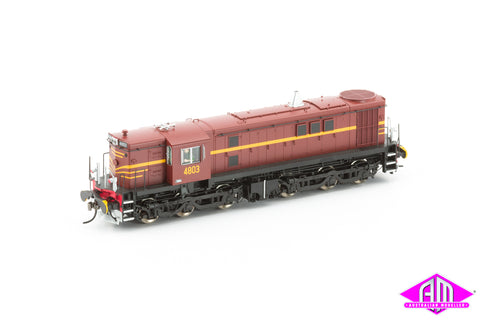 NSW 48 Class Locomotive 4803 Mk1 Indian Red 48-2