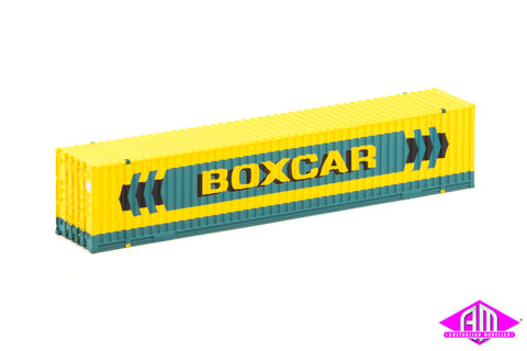 48' Container Boxcar Light Green (2 Pack)