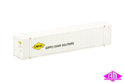 48' Container Linfox White (2 Pack)