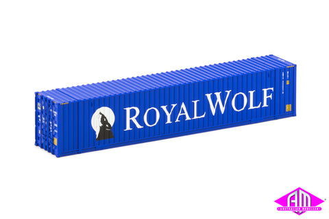 48' Container Royal Wolf old large logo (2 Pack)