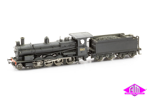 "NSWGR 50 Class Superheated Beyer-Peacock 5063 Non Sound ""WEATHERED"""