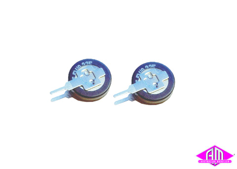 LED lighting strip capacitor, 0,22F, 2 pack 50710