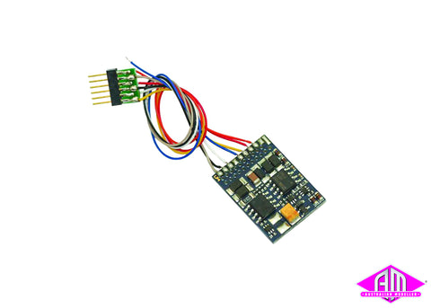 LokPilot V4.0 DCC decoder, with 6-pin plug according to NEM 651 54613