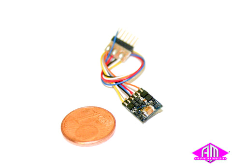 LokPilot micro V4.0, MM/DCC/SX, 6-pin NEM 651 with cable 54687