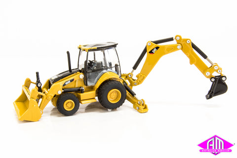 55263 CAT 1:87 450E Backhoe Loader