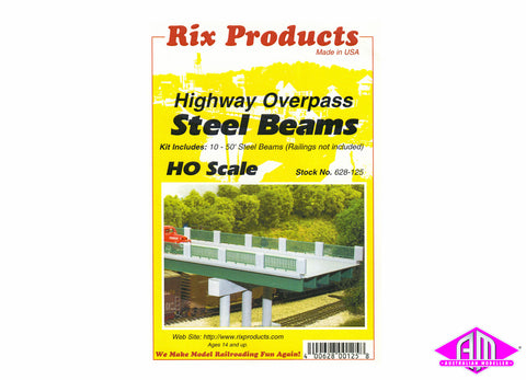 628-0125 Highway Overpass Steel Beams